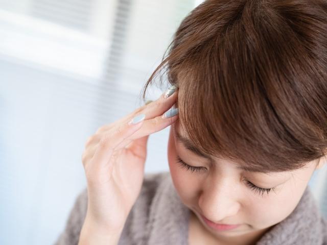 気象病、天気痛による頭痛