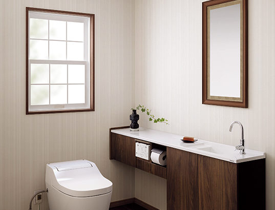 セキスイハイムのトイレをアラウーノかサティスで迷う。機能や特徴を紹介