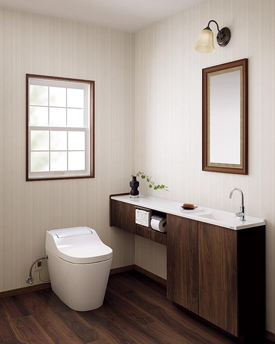 セキスイハイムのトイレはアラウーノ